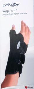 RespiForm Orteza na nadgarstekz kciukiem